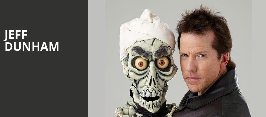 Jeff Dunham, Budweiser Gardens, London