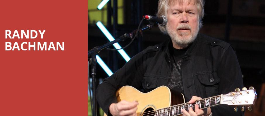 Randy Bachman, Budweiser Gardens, London